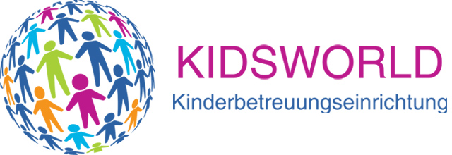 Kindergarten KIDSWORLD – KINDERBETREUUNGSEINRICHTUNG | KINDERGARTEN KIDS WORLD | KINDERGARTEN KIDSWORLD | KIGA KINDERGARTEN in 1020 WIEN Logo